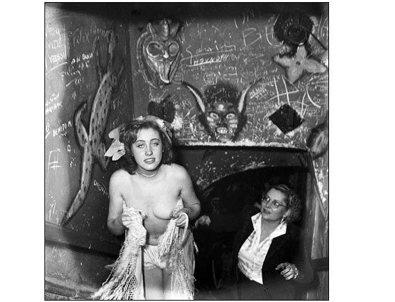 Hells gate - The photo was made in Paris at the Tabou, in February 1948.